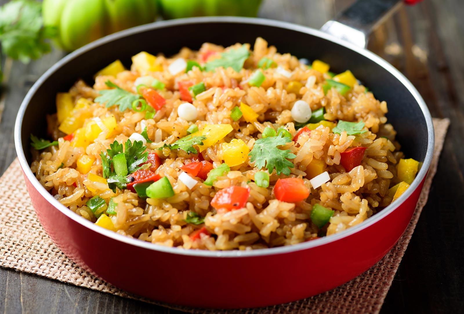 Hepsi Rezepte Reispfanne